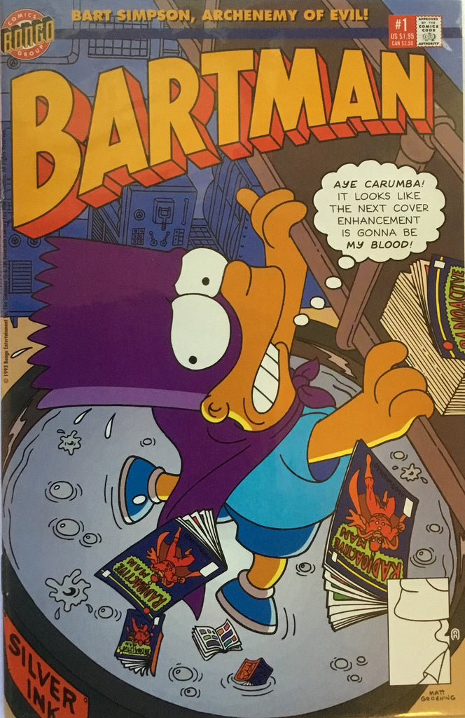 SIMPSONS BARTMAN # 1