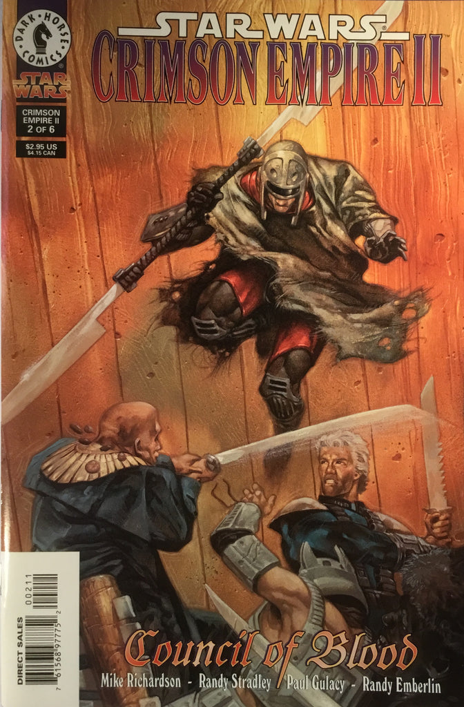 STAR WARS CRIMSON EMPIRE II : COUNCIL OF BLOOD # 2