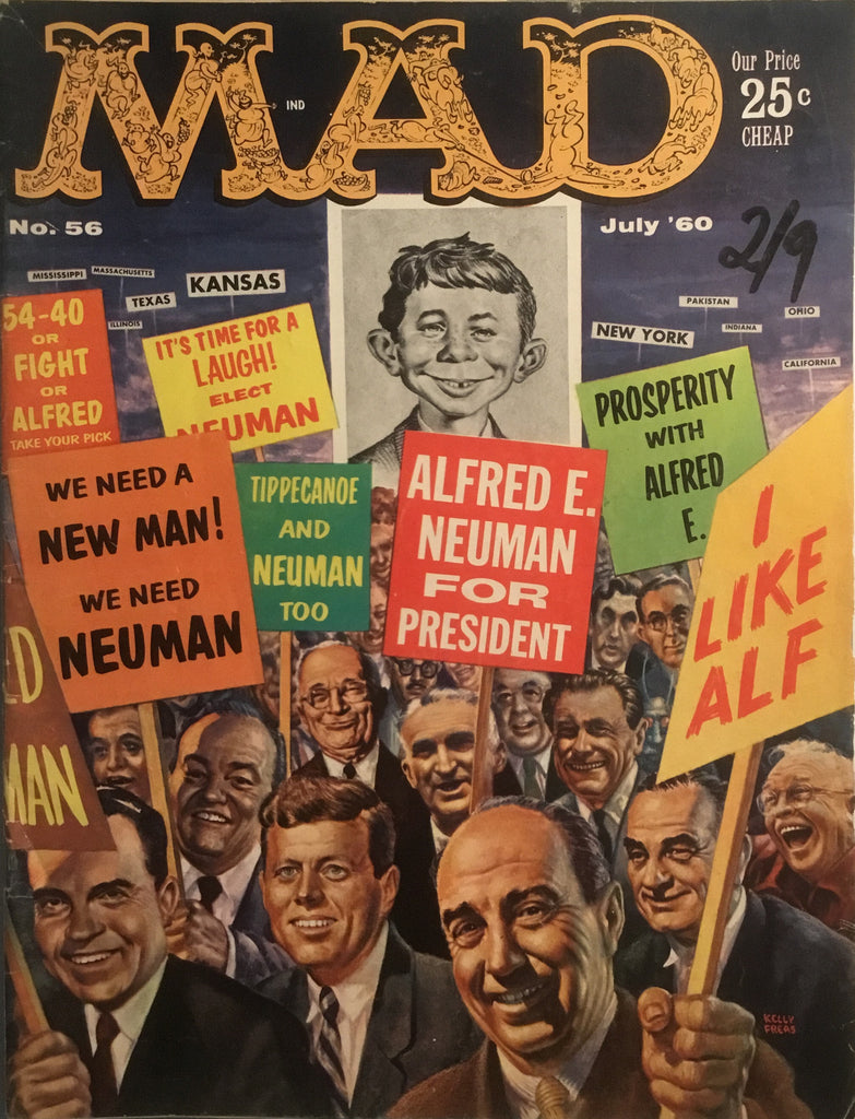 MAD MAGAZINE (USA) # 56