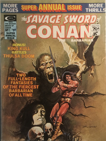 THE SAVAGE SWORD OF CONAN SUPER ANNUAL SPECIAL # 1