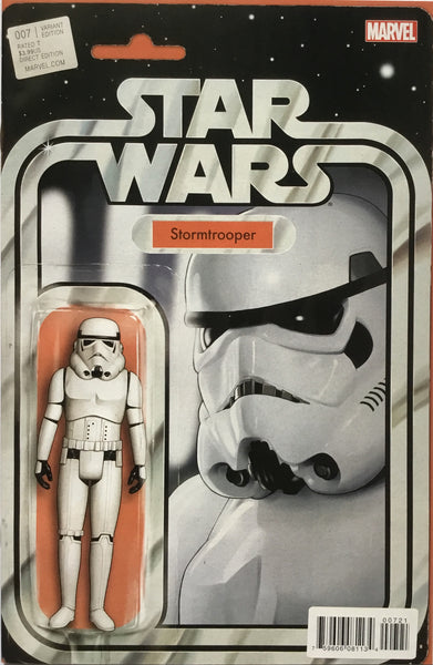 STAR WARS (2015-2020) # 7 STORMTROOPER ACTION FIGURE VARIANT COVER