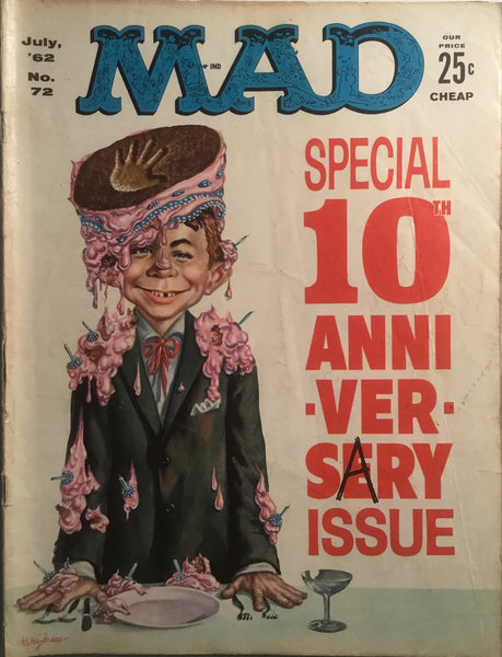 MAD MAGAZINE (USA) # 72
