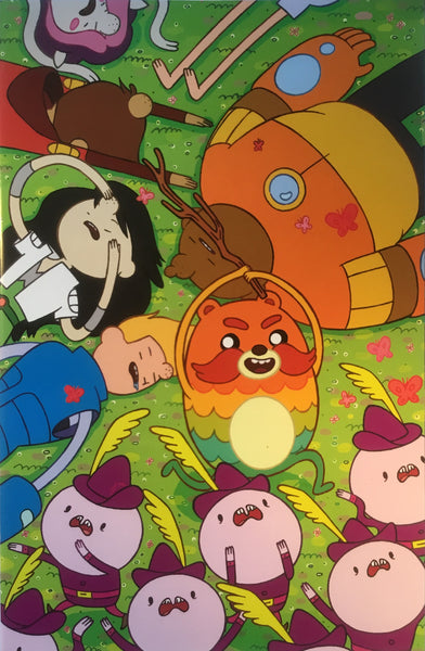 BRAVEST WARRIORS #13 (1:20 VARIANT COVER)