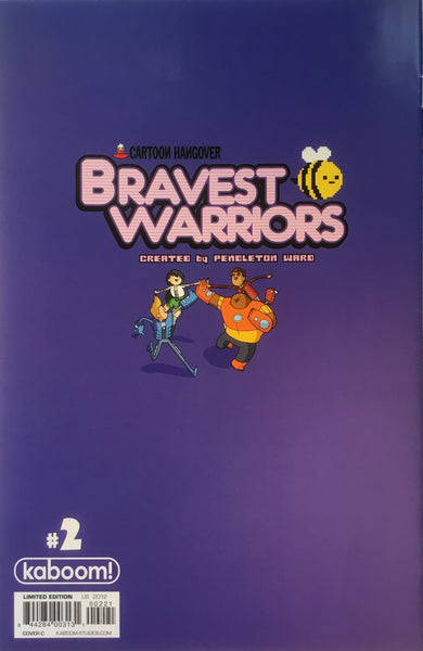BRAVEST WARRIORS # 2 (1:15 VARIANT COVER)