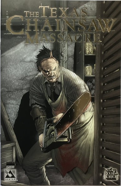 TEXAS CHAINSAW MASSACRE SPECIAL # 1 LIMITED PLATINUM FOIL EDITION