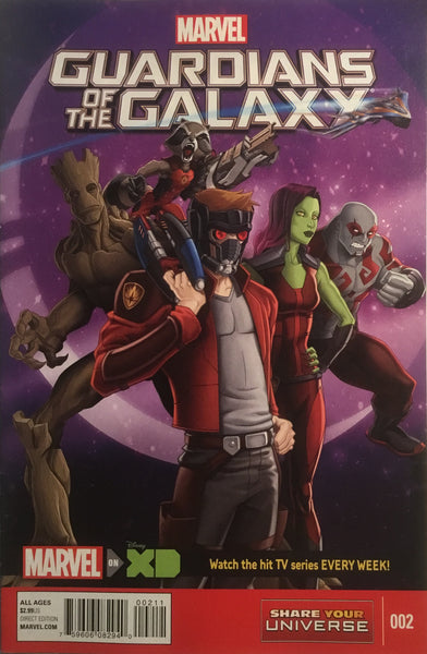 GUARDIANS OF THE GALAXY (MARVEL UNIVERSE) # 2