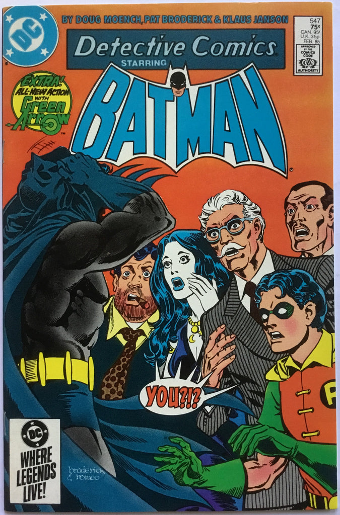 DETECTIVE COMICS starring BATMAN # 547 - Comics 'R' Us