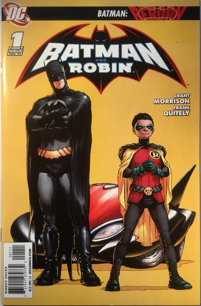 BATMAN AND ROBIN # 1 (2009) - Comics 'R' Us