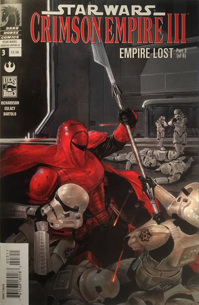 STAR WARS CRIMSON EMPIRE III : EMPIRE LOST # 3
