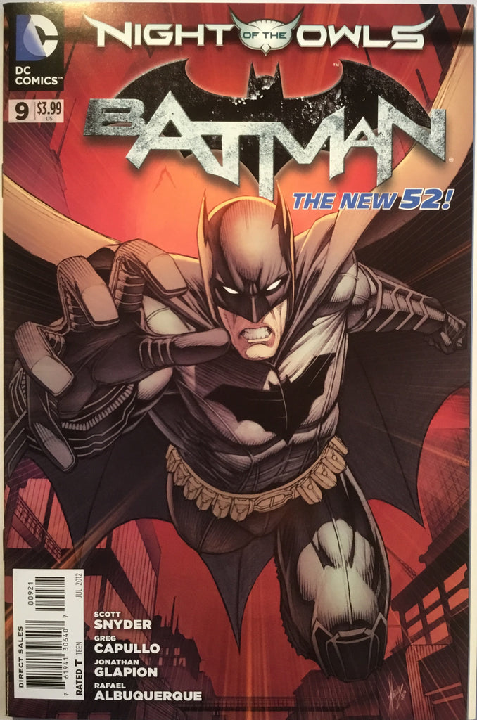 BATMAN # 9 (THE NEW 52) KEOWN 1:25 VARIANT - Comics 'R' Us