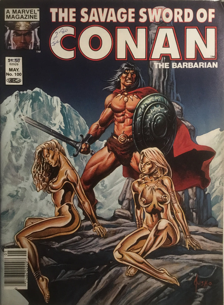 THE SAVAGE SWORD OF CONAN #100