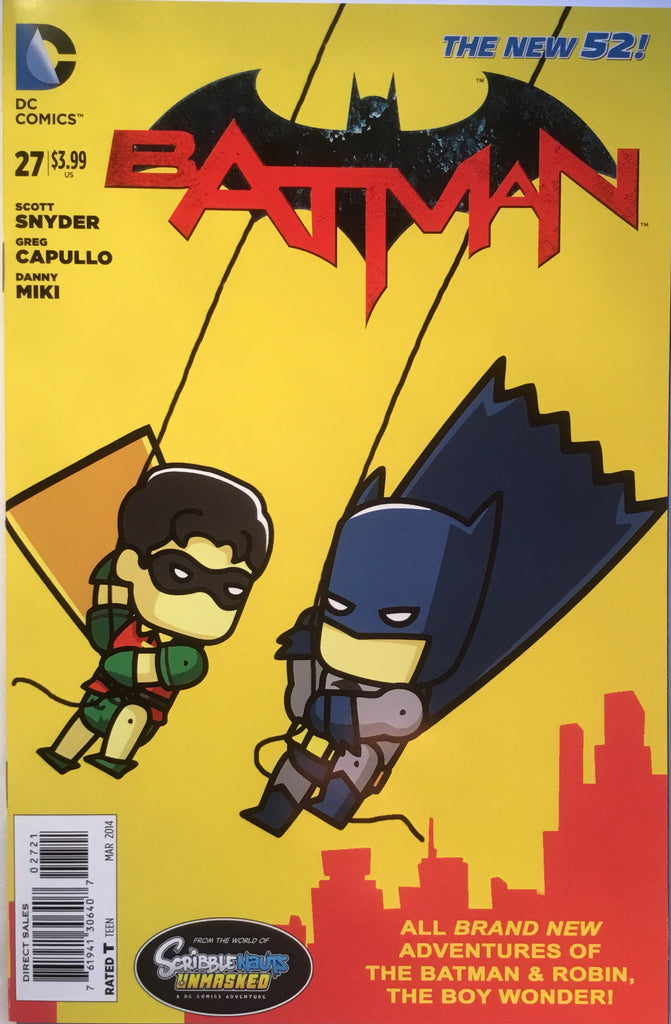 BATMAN #27 (THE NEW 52) SCRIBBLENAUTS 1:25 VARIANT - Comics 'R' Us