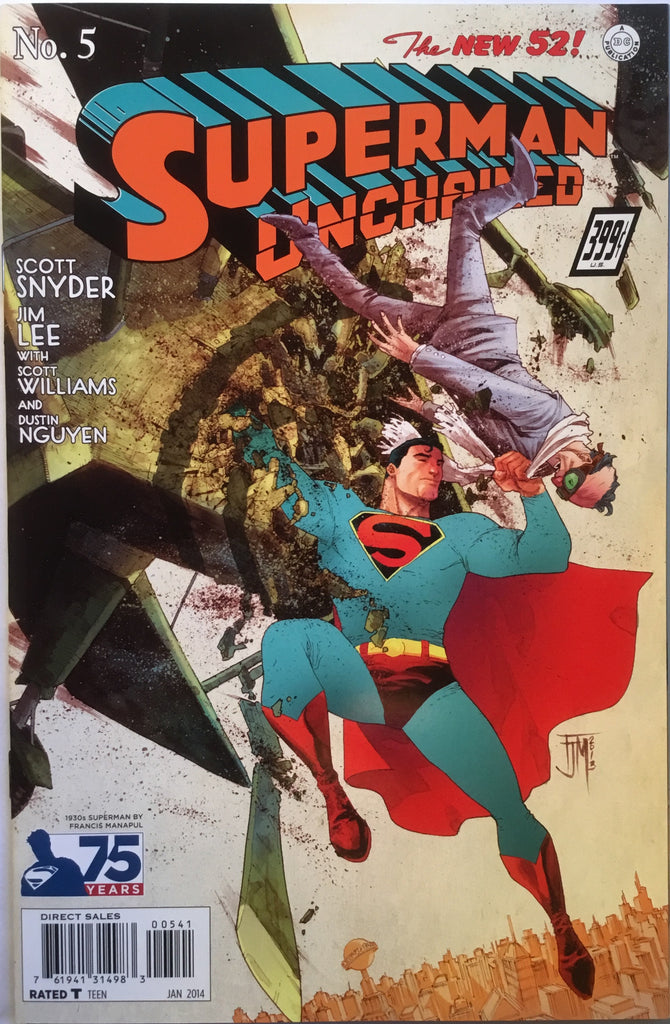 SUPERMAN UNCHAINED # 5 MANAPUL 1:100 VARIANT
