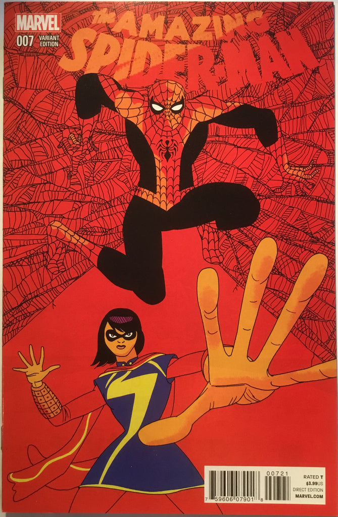 AMAZING SPIDER-MAN # 7 (2014) PULIDO 1:25 VARIANT - Comics 'R' Us