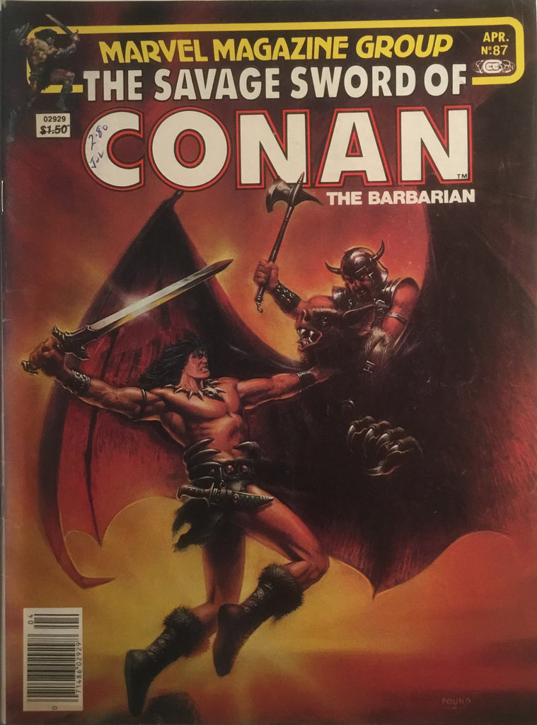 THE SAVAGE SWORD OF CONAN # 87