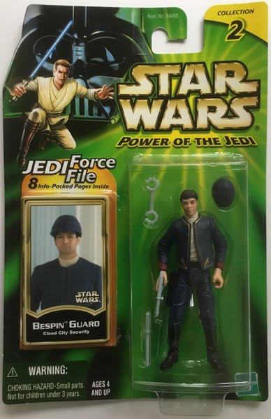 STAR WARS BESPIN GUARD (CLOUD CITY SECURITY) ACTION FIGURE 2000
