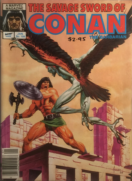 THE SAVAGE SWORD OF CONAN #108