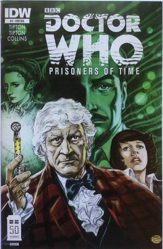 DOCTOR WHO PRISONERS OF TIME # 3 (1:10 VARIANT) - Comics 'R' Us