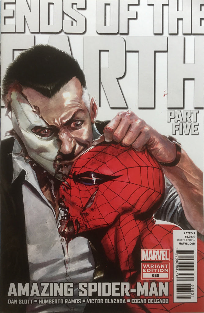 AMAZING SPIDER-MAN (1999-2013) # 685 DELL'OTTO COVER (1:15 VARIANT)