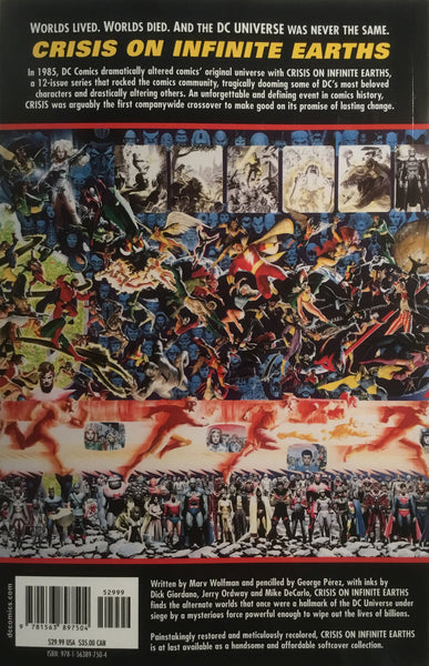 CRISIS ON INFINITE EARTHS GRAPHIC NOVEL - Comics 'R' Us