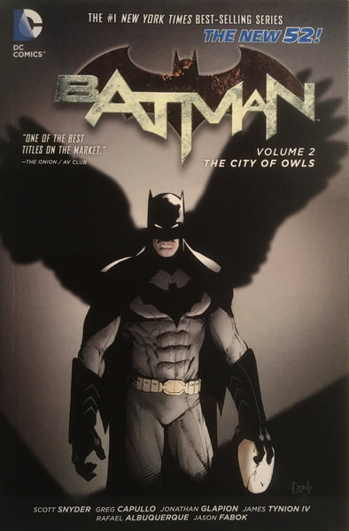 BATMAN (NEW 52) VOL 2 THE CITY OF OWLS GRAPHIC NOVEL - Comics 'R' Us