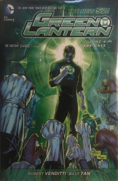 GREEN LANTERN (NEW 52) VOL 4 DARK DAYS HARDCOVER GRAPHIC NOVEL
