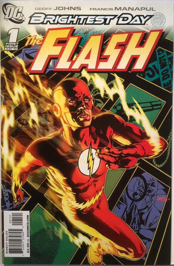 FLASH # 1 (1:25 VARIANT) 2010 - Comics 'R' Us