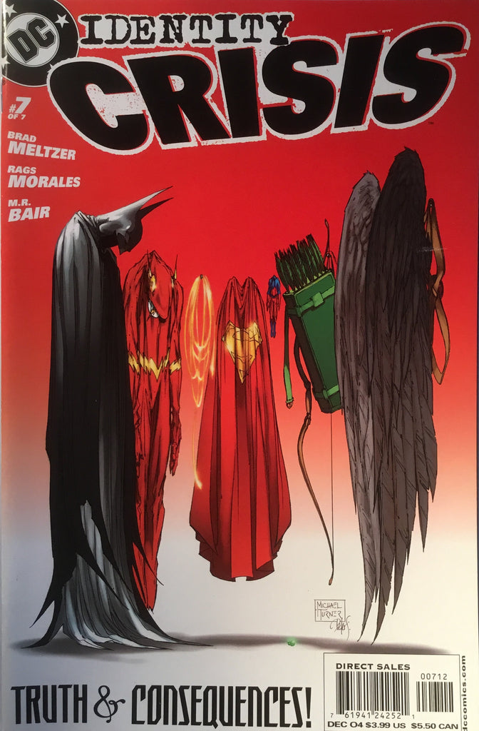 IDENTITY CRISIS # 7 (SECOND PRINTING) - Comics 'R' Us