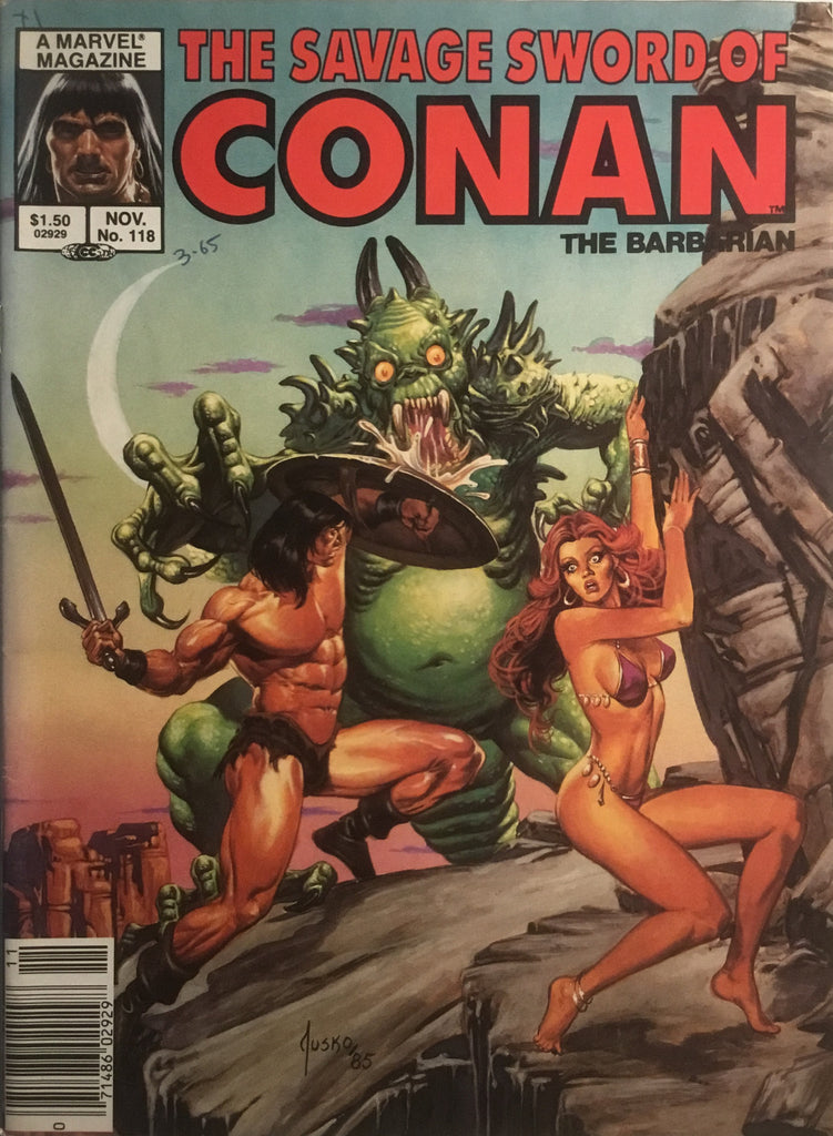 THE SAVAGE SWORD OF CONAN #118
