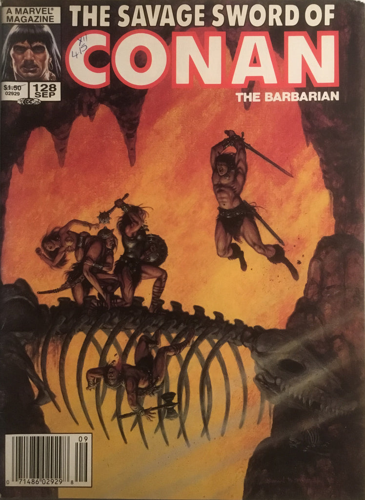 THE SAVAGE SWORD OF CONAN #128