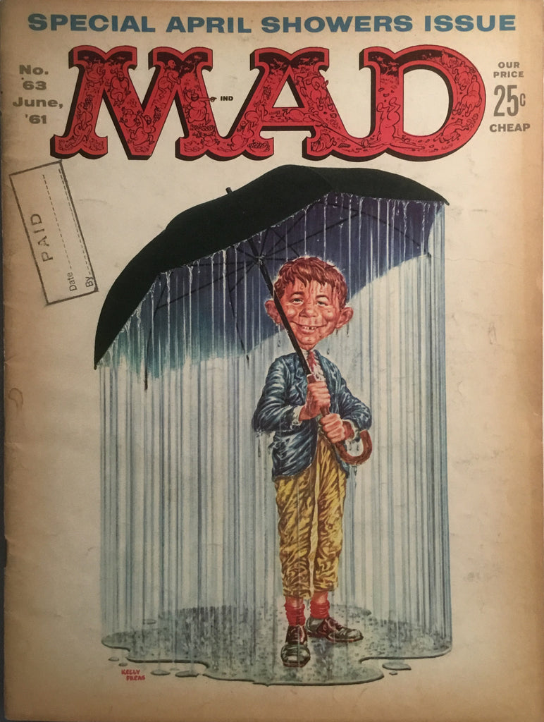 MAD MAGAZINE (USA) # 63