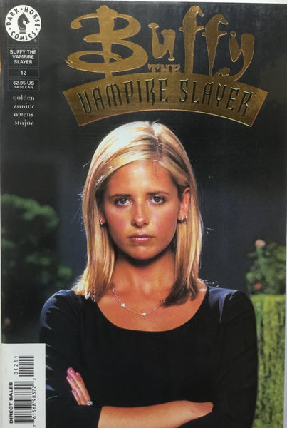 BUFFY THE VAMPIRE SLAYER PHOTO COVER # 12 GOLD LIMITED EDITION # 2357 - Comics 'R' Us
