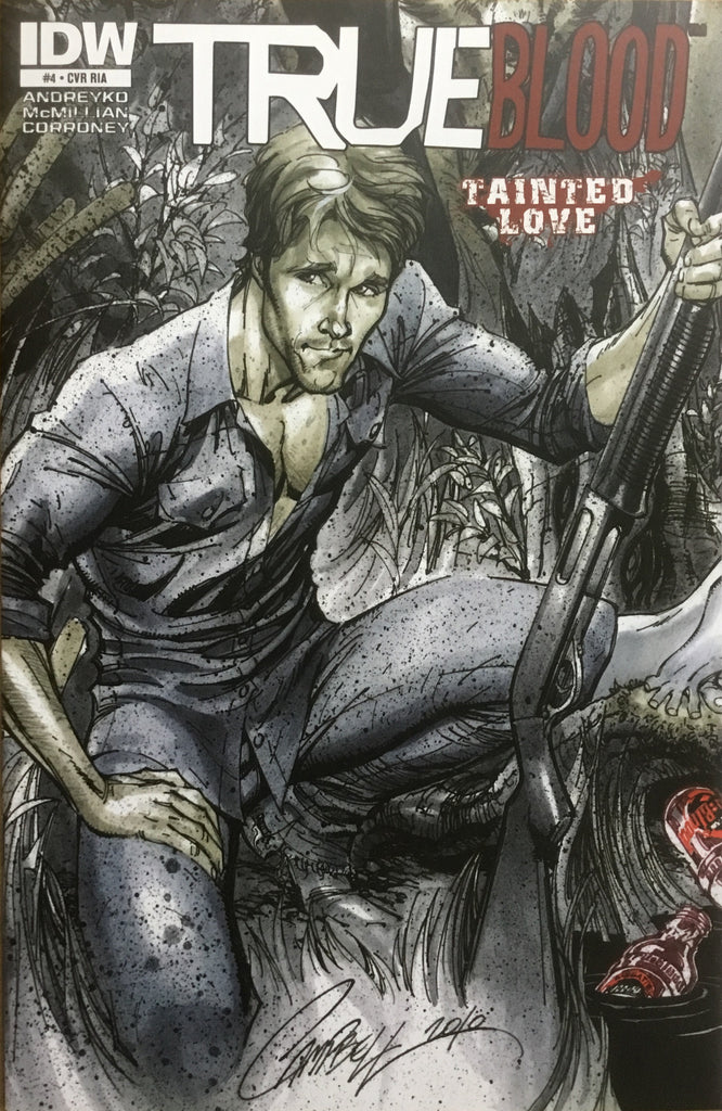 TRUE BLOOD TAINTED LOVE # 4 CAMPBELL COVER (1:10 VARIANT)