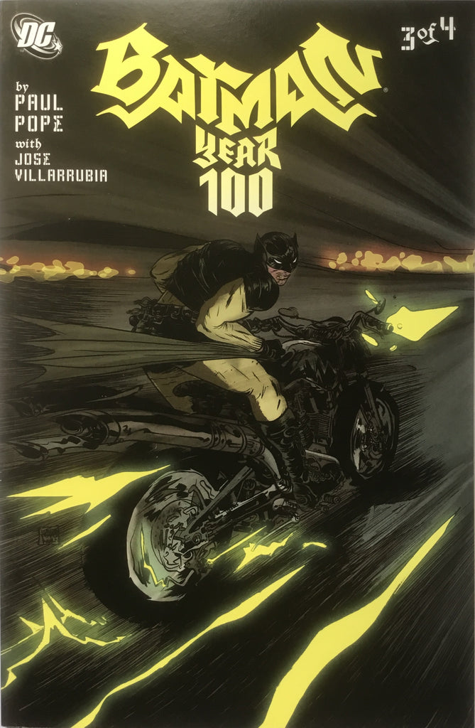 BATMAN YEAR 100 # 3