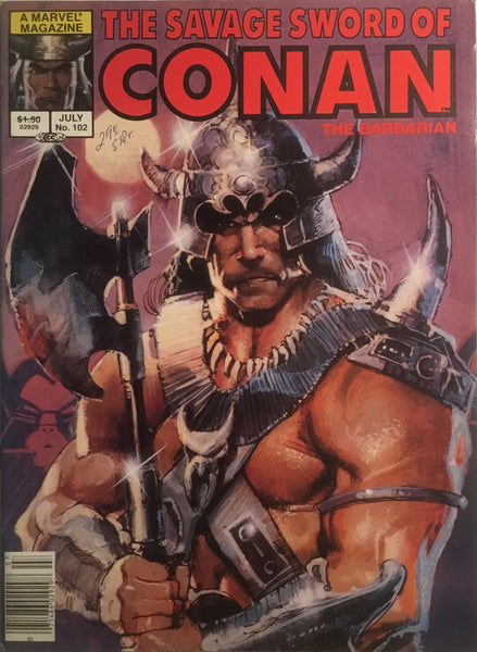THE SAVAGE SWORD OF CONAN #102