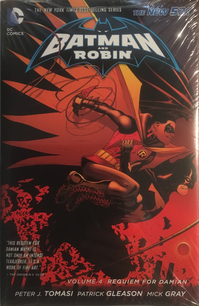 BATMAN AND ROBIN (NEW 52) VOL 4 REQUIEM FOR DAMIAN HARDCOVER GRAPHIC NOVEL