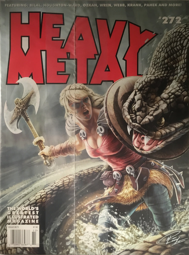 HEAVY METAL # 272