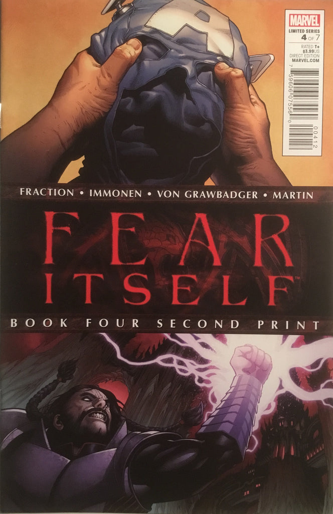 FEAR ITSELF # 4 SECOND PRINTING