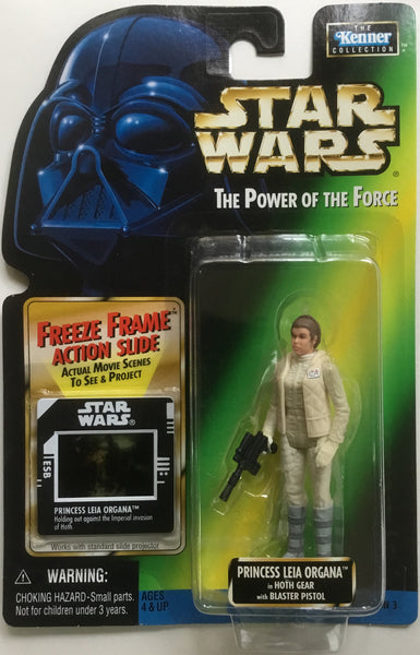 STAR WARS PRINCESS LEIA ORGANA IN HOTH GEAR ACTION FIGURE 1998