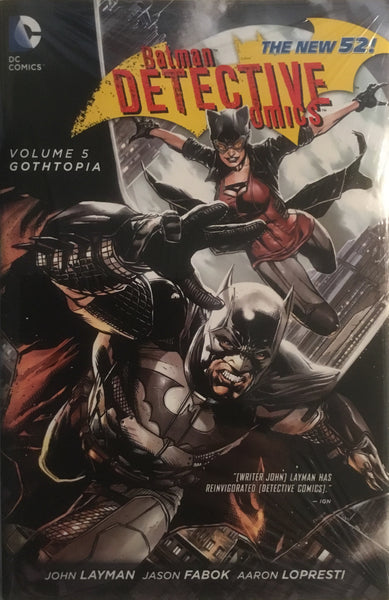 DETECTIVE COMICS (NEW 52) VOL 5 GOTHTOPIA HARDCOVER GRAPHIC NOVEL