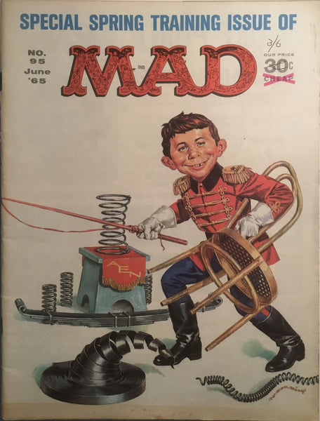 MAD MAGAZINE (USA) # 95