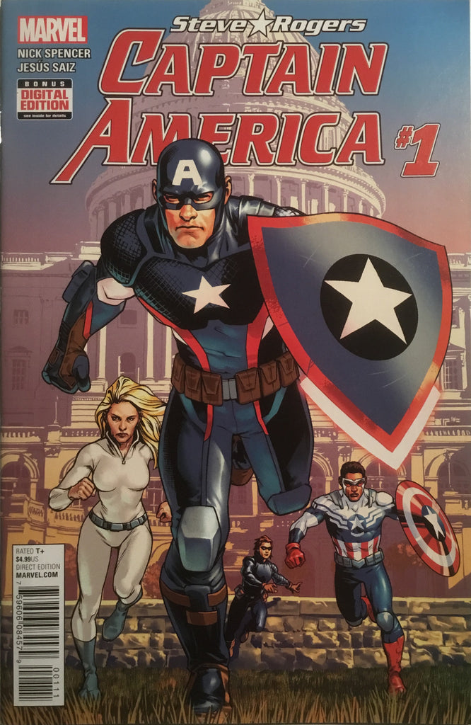 CAPTAIN AMERICA STEVE ROGERS # 1  FIRST PRINTING - Comics 'R' Us