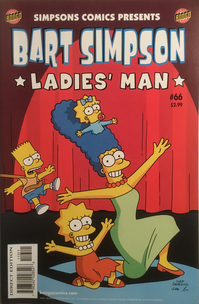 SIMPSONS COMICS PRESENTS BART SIMPSON # 66