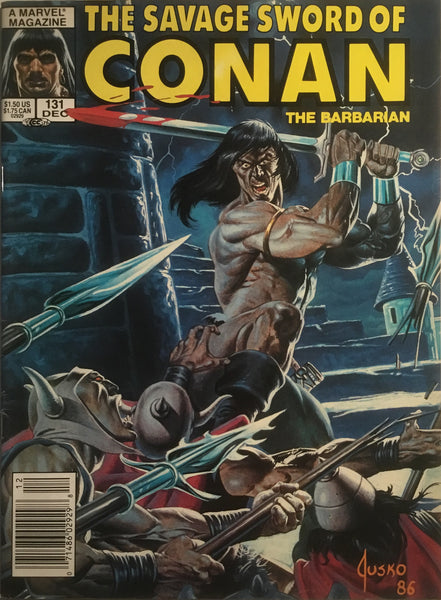 THE SAVAGE SWORD OF CONAN #131