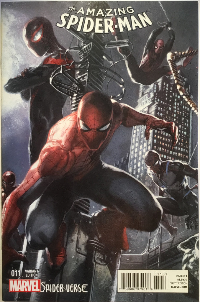 AMAZING SPIDER-MAN # 11 (2015) DELLOTTO 1:25 VARIANT - Comics 'R' Us