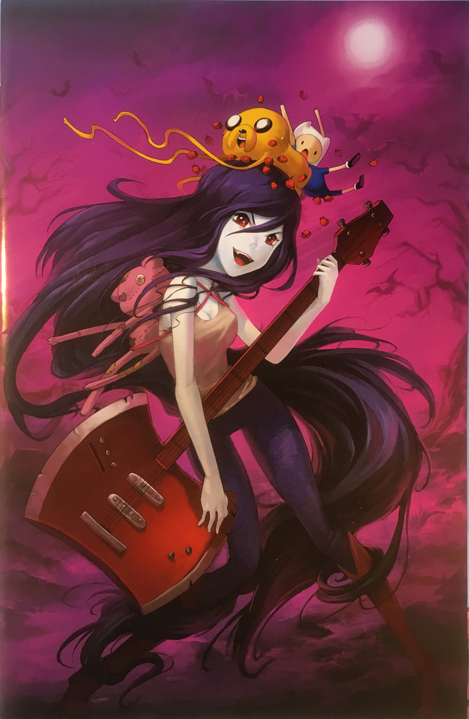 ADVENTURE TIME PRESENTS MARCELINE AND THE SCREAM QUEENS # 6 (1:15 VARIANT COVER) - Comics 'R' Us