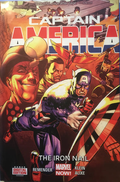 CAPTAIN AMERICA (2012) VOL 4 THE IRON NAIL HARDCOVER GRAPHIC NOVEL - Comics 'R' Us