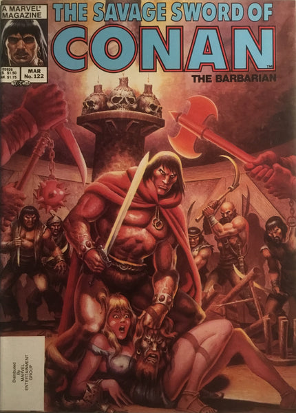 THE SAVAGE SWORD OF CONAN #122
