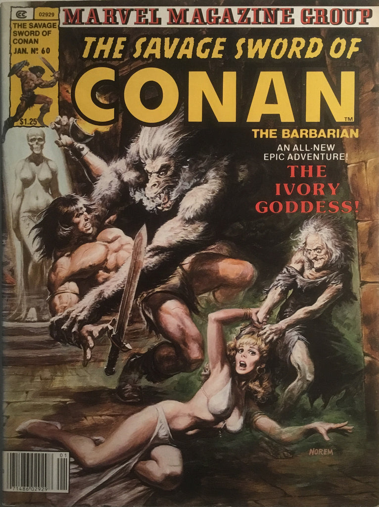THE SAVAGE SWORD OF CONAN # 60