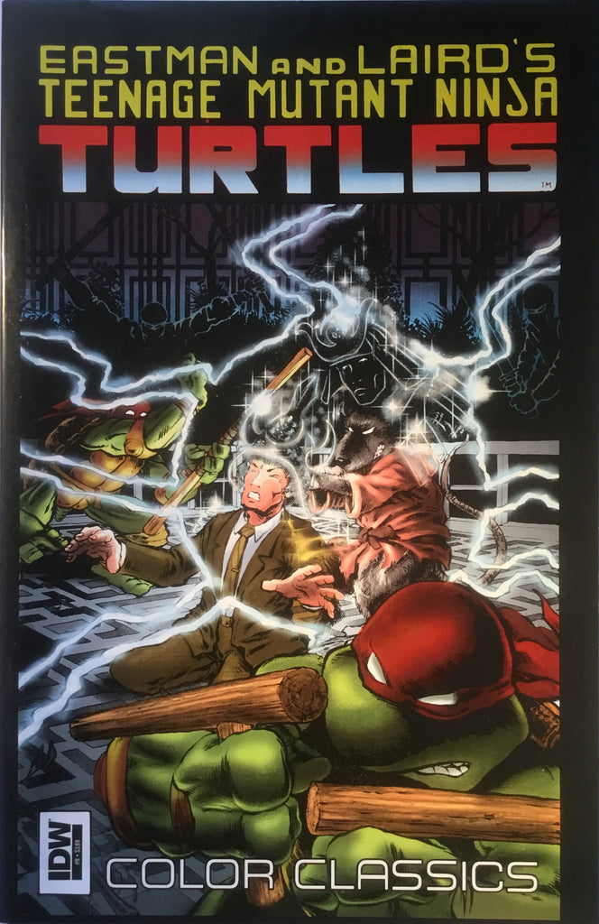 TMNT TEENAGE MUTANT NINJA TURTLES COLOR CLASSICS # 9